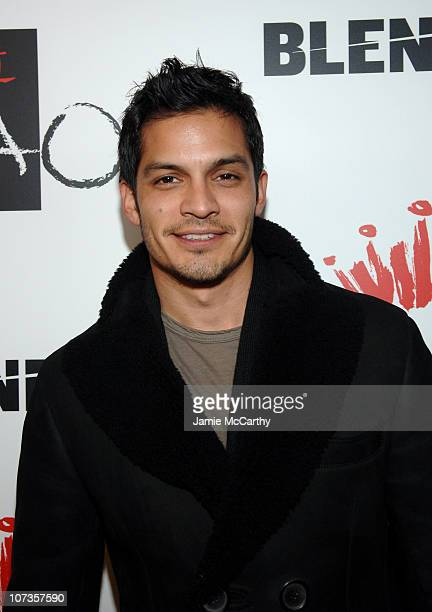 Nicholas Gonzalez during 2007 Park City Bud Select Presents Blender Sessions at Tao Park City Hosted by Nelly Arrivals at Harry O's in Park City Utah...