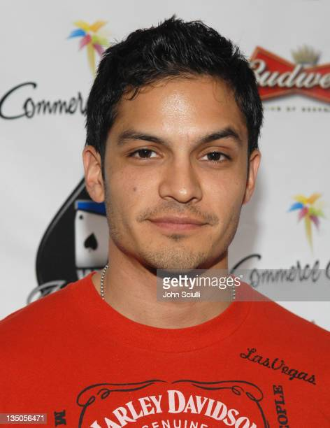 Nicholas Gonzalez during 2007 World Poker Tour Celebrity Invitational Red Carpet at Commerce Casino in Commerce California United States