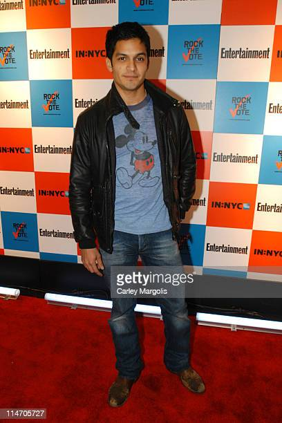 Nicholas Gonzalez during Entertainment Weekly and 'Rock the Vote' Host LISTEN2THIS Live with Performance by The Donnas at Ruby Falls in New York City...