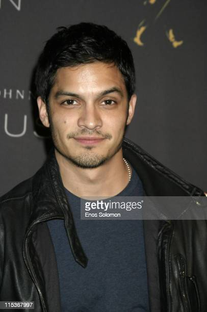 Nicholas Gonzalez during Johnnie Walker Black Label Brings Fusion to Los Angeles A Unique Combination of Food Fashion and Fun to Benefit Self Help...