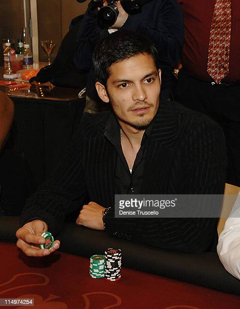 Nicholas Gonzalez during LG All Star Poker Showdown at The Hardwood Suite in The Palms Hotel and Casino Resort Inside at The Hardwood Suite at The...