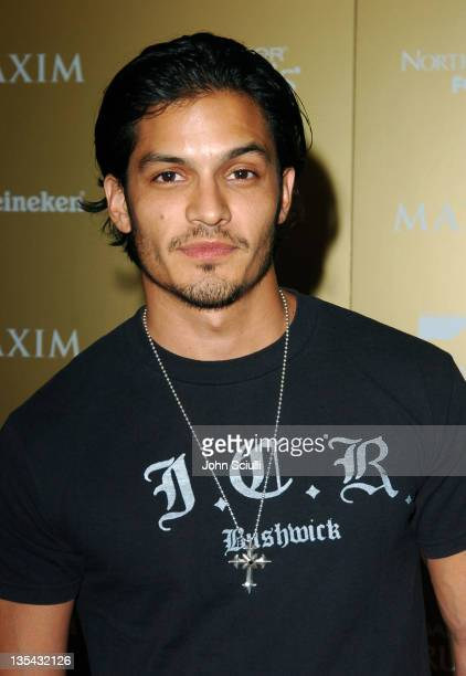 Nicholas Gonzalez during Maxim Magazine Hot 100 Party in Celebration of the Grand Opening of Body English In the Hard Rock Hotel Casino Red Carpet at...