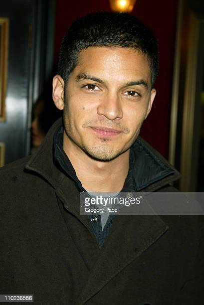 Nicholas Gonzalez of The OC during The Life Aquatic with Steve Zissou New York City Premiere Inside Arrivals at Ziegfield Theater in New York City...