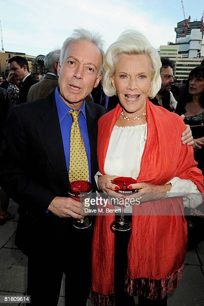 Nicholas Grace and Honor Blackman attend the The Great British Movie Event in aid of the National Film and Television School at the Old Billingsgate...