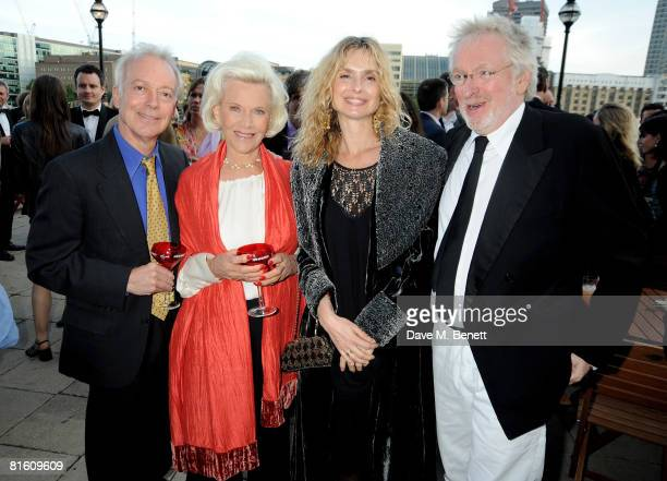 Nicholas Grace Honor Blackman Maryam d'Abo and Hugh Hudson attend the The Great British Movie Event in aid of the National Film and Television School...