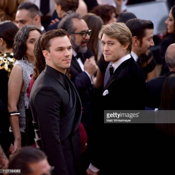 Nicholas Hoult and Joe Alwyn attends the 91st Annual Academy Awards at Hollywood and Highland on February 24 2019 in Hollywood California