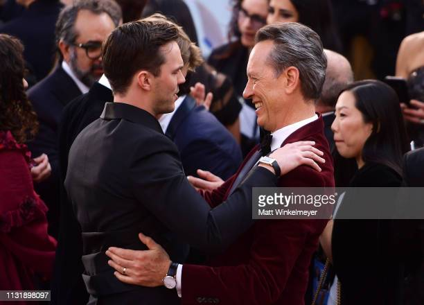 Nicholas Hoult and Richard E Grant attend the 91st Annual Academy Awards at Hollywood and Highland on February 24 2019 in Hollywood California