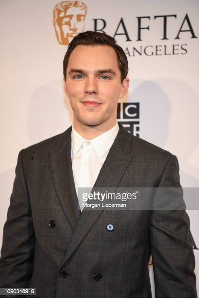 Nicholas Hoult arrives at the BAFTA Los Angeles Tea Party at the Four Seasons Hotel Los Angeles in Beverly Hills on January 05 2019 in Los Angeles...