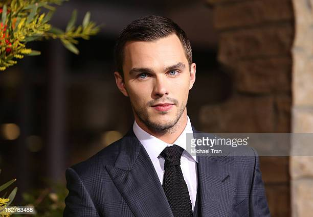 Nicholas Hoult arrives at the Los Angeles premiere of 'Jack The Giant Slayer' held at TCL Chinese Theatre on February 26 2013 in Hollywood California