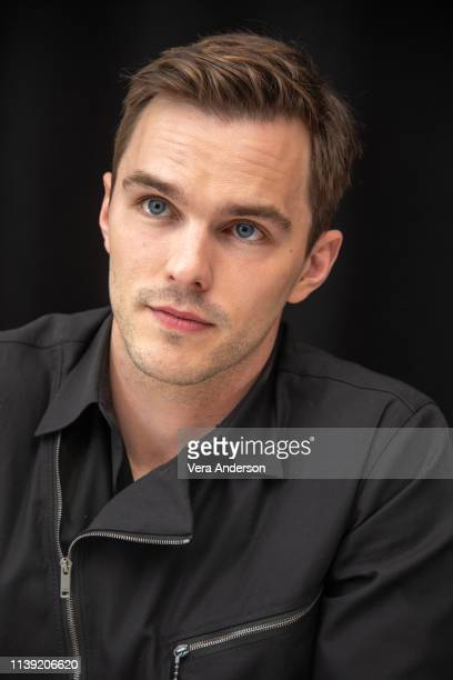 Nicholas Hoult at the Dark Phoenix Press Conference at The London Hotel on March 28 2019 in West Hollywood California