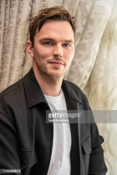 Nicholas Hoult at the Tolkien Press Conference at the Four Seasons Hotel on April 22 2019 in Beverly Hills California