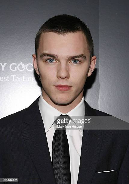 """Nicholas Hoult attends a screening of """"A Single Man"""" hosted by the Cinema Society and Tom Ford at The Museum of Modern Art on December 6, 2009 in New..."""