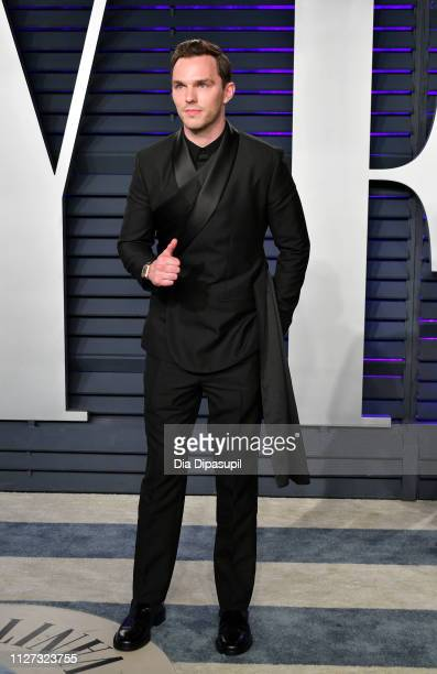 Nicholas Hoult attends the 2019 Vanity Fair Oscar Party hosted by Radhika Jones at Wallis Annenberg Center for the Performing Arts on February 24...