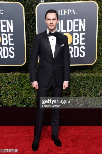 Nicholas Hoult attends the 76th Annual Golden Globe Awards at The Beverly Hilton Hotel on January 6 2019 in Beverly Hills California