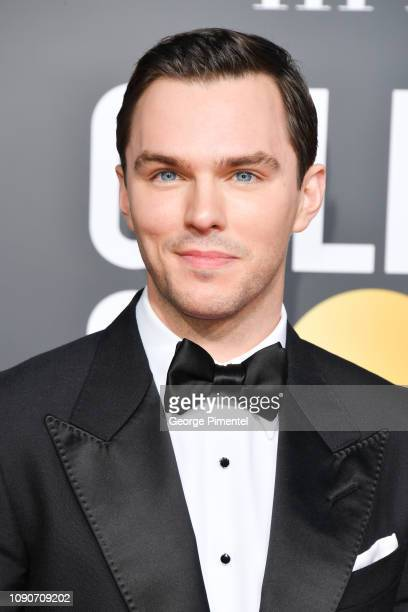 Nicholas Hoult attends the 76th Annual Golden Globe Awards held at The Beverly Hilton Hotel on January 06 2019 in Beverly Hills California