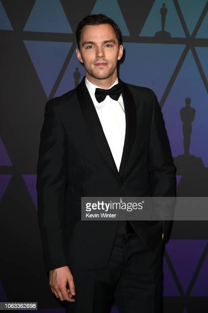 Nicholas Hoult attends the Academy of Motion Picture Arts and Sciences' 10th annual Governors Awards at The Ray Dolby Ballroom at Hollywood Highland...