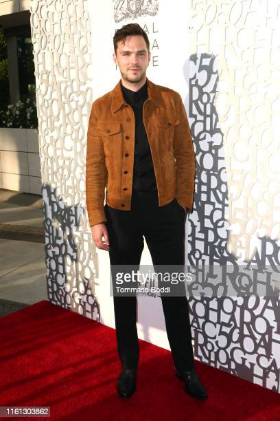 Nicholas Hoult attends the American Friends of Covent Garden 50th Anniversary Celebration at JeanGeorges Beverly Hills on July 10 2019 in Beverly...