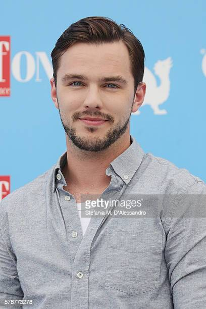 Nicholas Hoult attends the Giffoni Film Festival photocall on July 22 2016 in Giffoni Valle Piana Italy