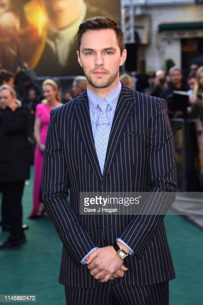 Nicholas Hoult attends the Tolkien UK premiere at The Curzon Mayfair on April 29 2019 in London England