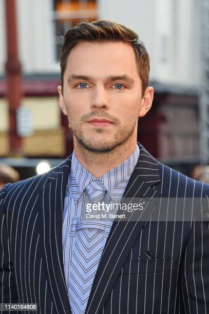 Nicholas Hoult attends the UK Premiere of Tolkien at The Curzon Mayfair on April 29 2019 in London England