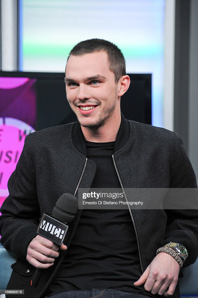Nicholas Hoult Interview on New.Music.Live at MuchMusic Headquarters on January 21, 2013 in Toronto, Canada.