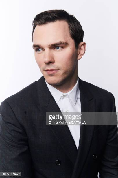 Nicholas Hoult poses for a portrait at The BAFTA Tea Party on January 5 2019 in Beverly Hills California