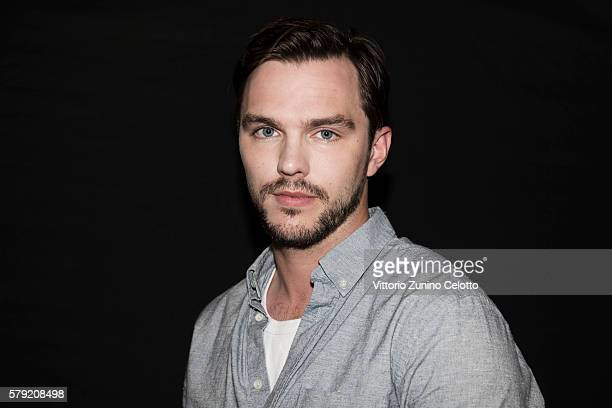 Nicholas Hoult poses on July 14 2016 in Giffoni Valle Piana Italy