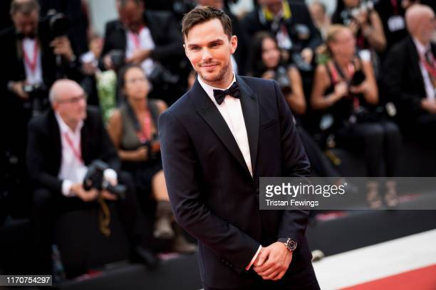 """Nicholas Hoult wearing a Jaeger-LeCoultre watch walks the red carpet ahead of the Opening Ceremony and the """"La Vérité"""" screening during the 76th..."""