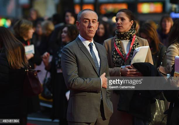Nicholas Hytner attends the Centrepiece Gala supported by the Mayor of London for the premiere of 'The Lady In The Van' at Odeon Leicester Square...