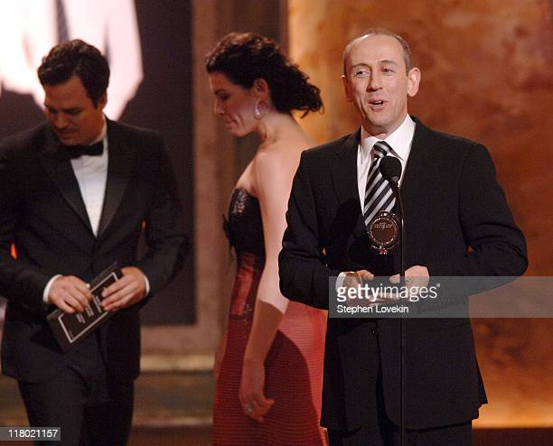 """Nicholas Hytner winner of Best Direction of a Play for """"The History Boys"""""""