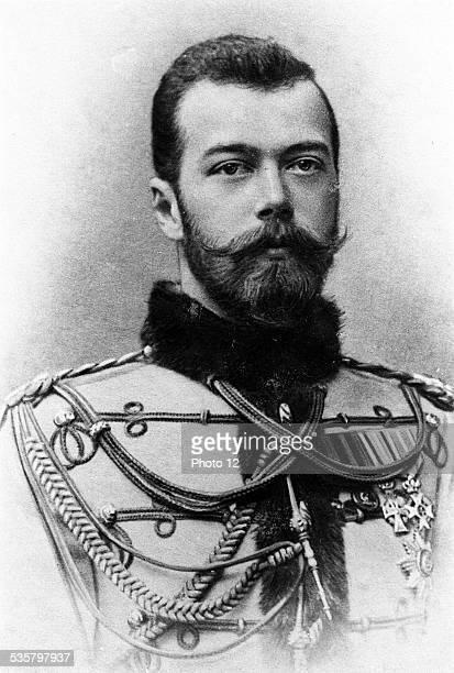 Nicholas II Alexandrovich Son of Alexander III Tsar of Russia from 1894 to 1917 Married Alexandra Feodorovna November 26 1894