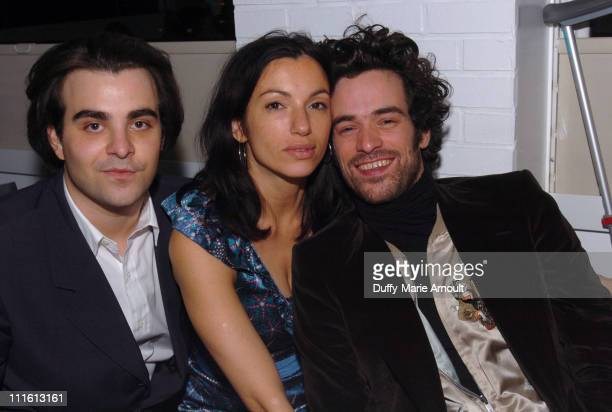 Nicholas Jarecki, writer/director, Aure Atika and Romain Duris