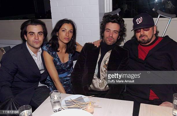 Nicholas Jarecki, writer/director, Aure Atika, Romain Duris and James Toback