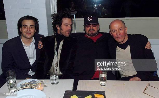 Nicholas Jarecki writer/director Romain Duris James Toback and Jacques Audiard