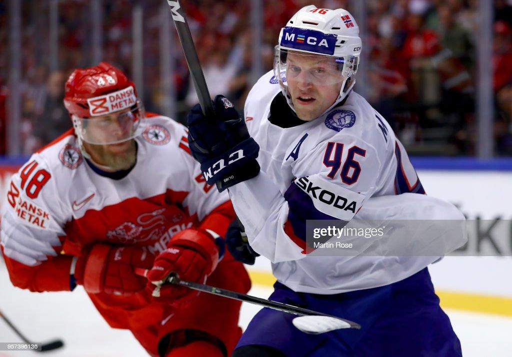 Denmark v Norway - 2018 IIHF Ice Hockey World Championship