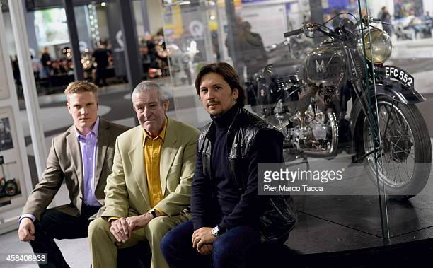 Nicholas John Kelleher John Henry Kelleher and Matchless Chairman Franco Malenotti attend the Matchless Official Presentation of the model X Reloaded...