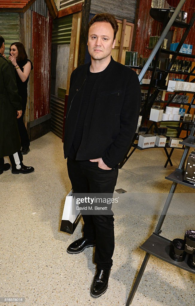 Nicholas Kirkwood attends an exclusive VIP preview of the Dover Street Market on March 18, 2016 in London, England.