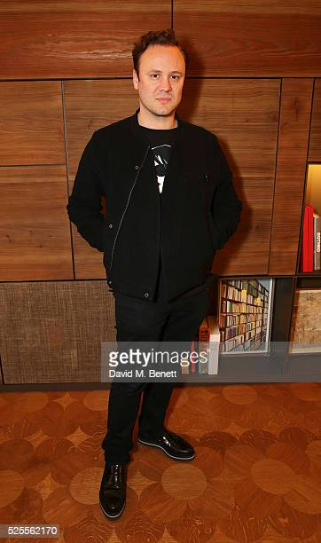 Nicholas Kirkwood attends the BFC Fashion Trust x Farfetch cocktail reception on April 28, 2016 in London, England.