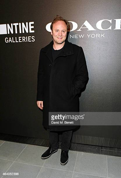 Nicholas Kirkwood attends the Coach X Serpentine The Future Contemporaries Party at The Serpentine Sackler Gallery on February 21 2015 in London...