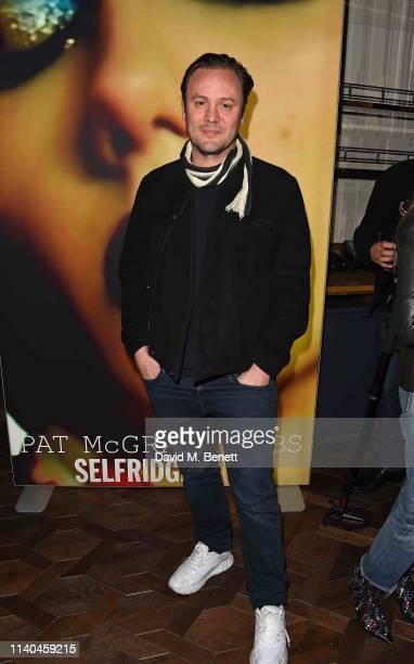 Nicholas Kirkwood attends the Pat McGrath x Selfridges 'A Technicolour Odyssey' launch party at Selfridges on April 04 2019 in London England
