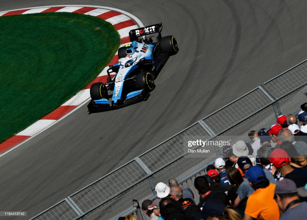 F1 Grand Prix of Canada - Practice : News Photo