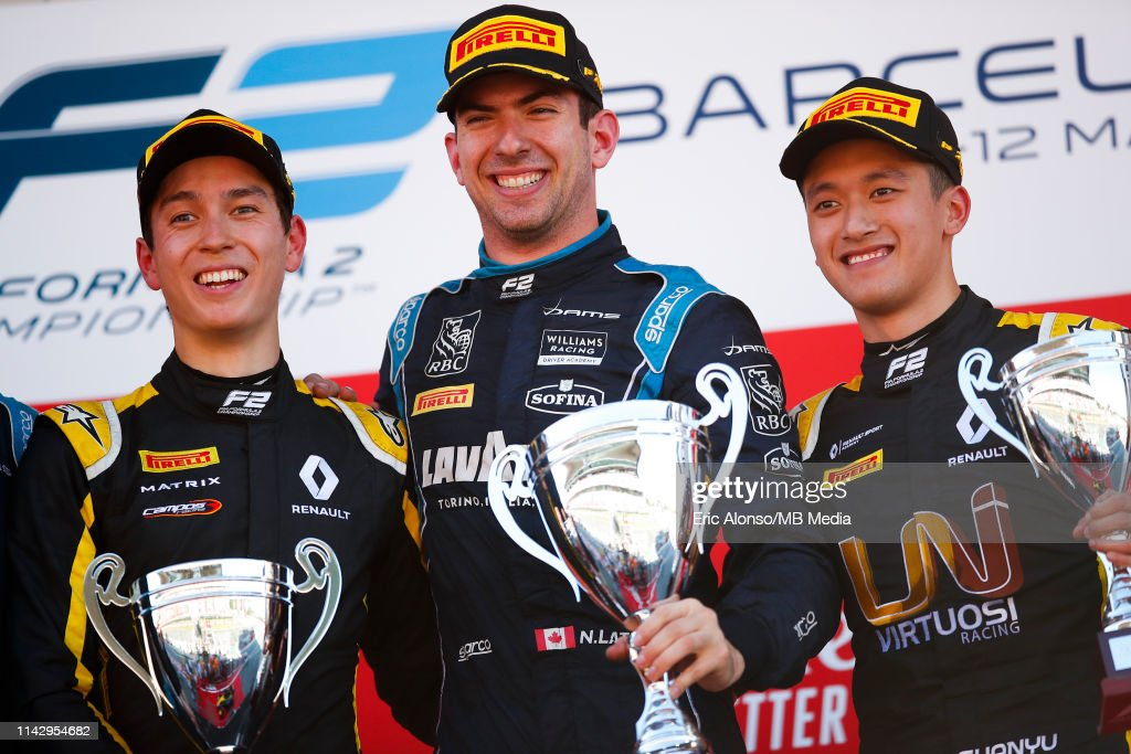 F2 Grand Prix of Spain - Practice : News Photo