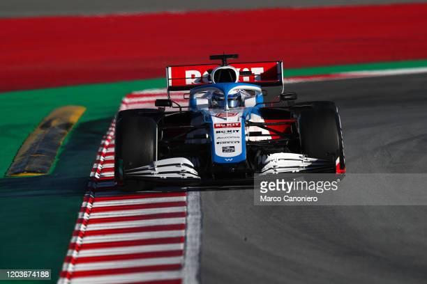 Nicholas Latifi of Rokit Williams Racing on track during day five of F1 Winter Testing