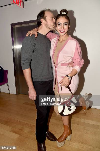 Nicholas Loeffler and Shari Loeffler attend Barbara Tober hosts a party for 'AVEDON Something Personal' at Museum of Art and Design on November 15...