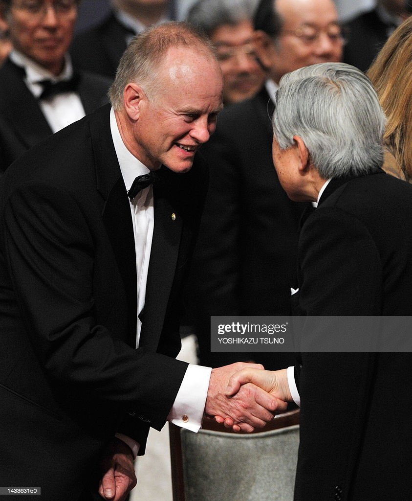 Nicholas lydon l co founder and direc pictures getty images nicholas lydon l co founder and director of blueprint medicines shakes hands malvernweather Images