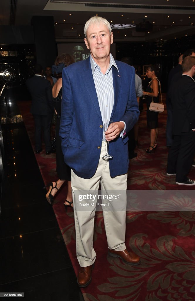 Nicholas Lyndhurst attends the Raindance Film Festival anniversary drinks reception at The Mayfair Hotel on August 15, 2017 in London, England.