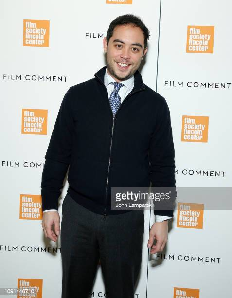 Nicholas Ma attends Film Society of Lincoln Center Film Comment Annual Luncheon at Lincoln Ristorante on January 08 2019 in New York City