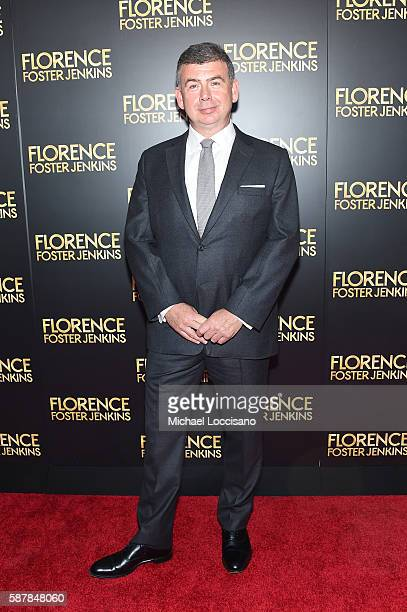 Nicholas Martin attends the Florence Foster Jenkins New York premiere at AMC Loews Lincoln Square 13 theater on August 9 2016 in New York City