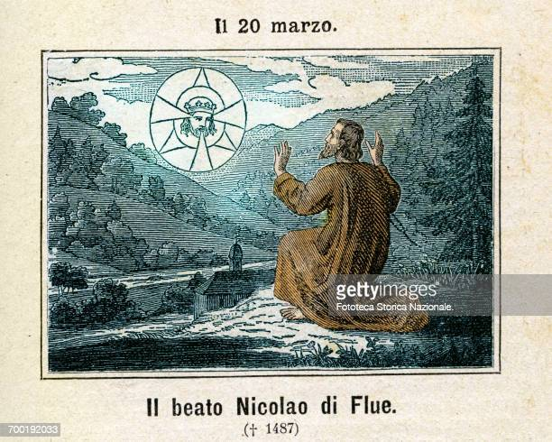 Nicholas of Flüe, or Nicolao , was born, lived and died in the small village of Flüeli am Ranft, in the canton of Obwalden, where he was a farmer,...
