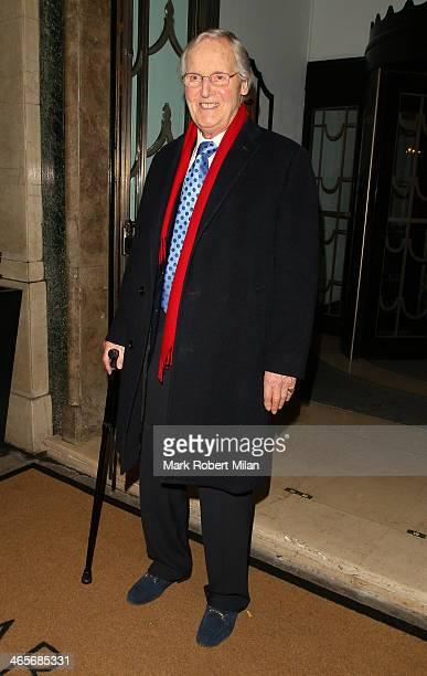 Nicholas Parsons at Claridges hotel ballroom on January 28 2014 in London England
